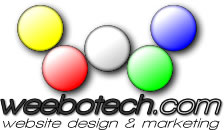 Weebotech Website Design